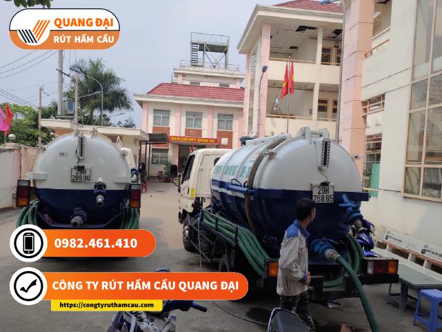 Công ty rút hầm cầu Quận 2 Quang Đại sử dụng công nghệ hiện đại