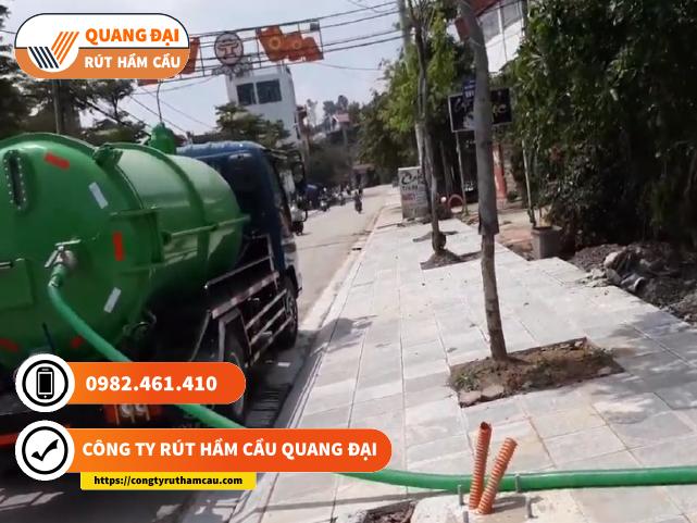 Rút hầm cầu Quận 2 Quang Đại giá rẻ