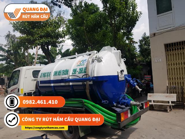 Rút hầm cầu Quận 4 Quang Đại uy tín