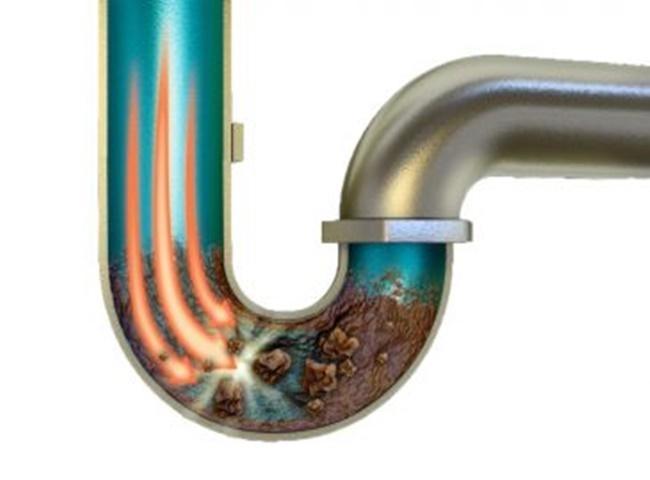 Ống thông hơi bể phốt bị tắc do nhiều nguyên nhân gây ra