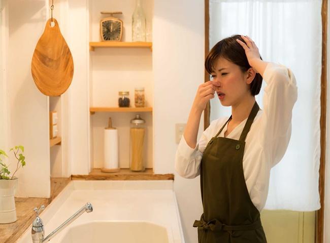 Mùi ẩm mốc xuất hiện do rất nhiều nguyên nhân gây ra