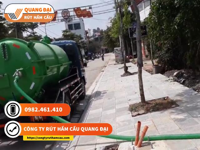 Rút hầm cầu Quang Đại định kỳ giá rẻ