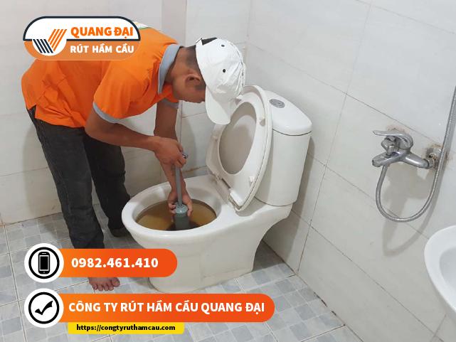 Thông tắc bồn cầu Quận 1 Quang Đại