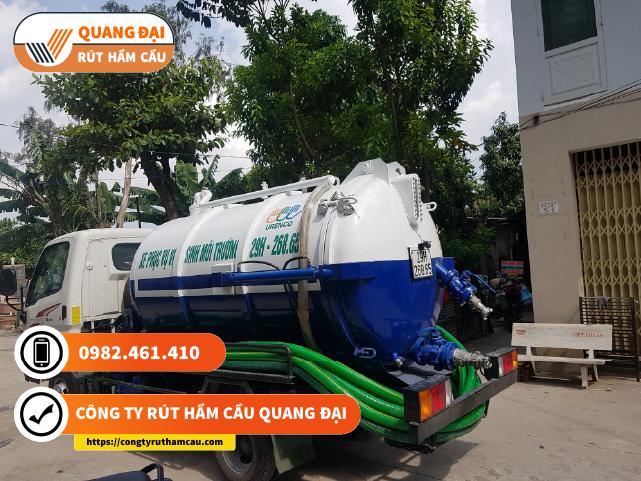 Review công ty rút hầm cầu Quang Đại