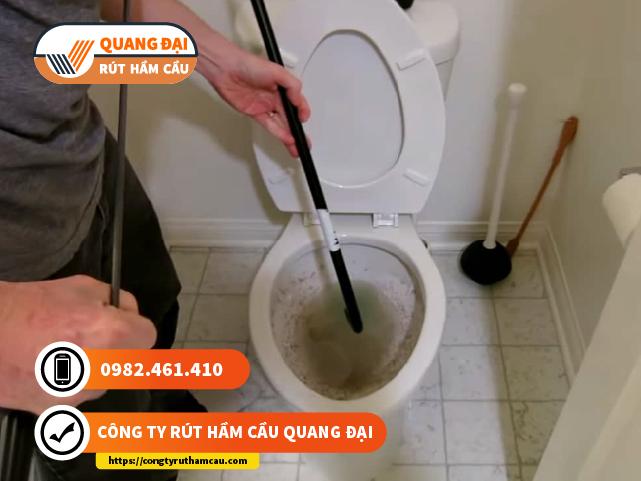 Thông cầu nghẹt quận 5 Quang Đại giá rẻ