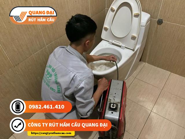 Thông tắc bồn cầu quận 5 Quang Đại