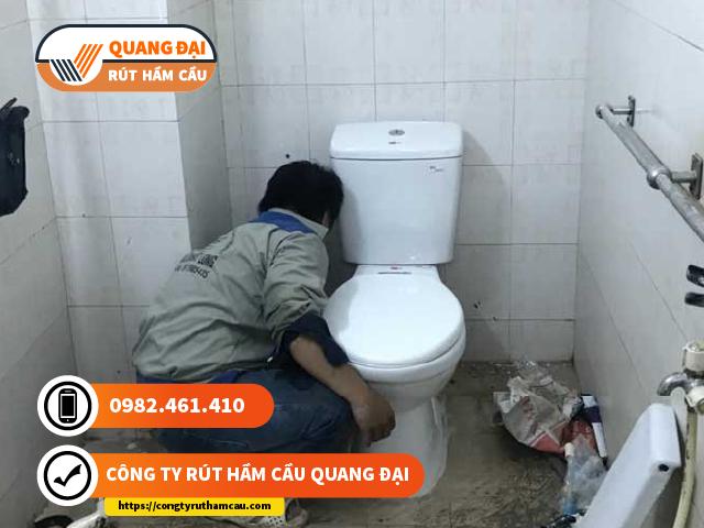 Thông tắc bồn cầu quận 6 Quang Đại